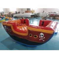 Buy cheap Air Sealing Inflatable Viking Seesaw Game, Fun Easy Inflatable Pirate Ship Seesaw For Kids from wholesalers