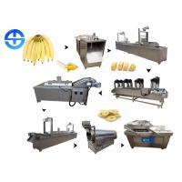 Buy cheap Industrial Fryer Banana Chips Making Machine , Fried Plantain Chips Production Line from wholesalers
