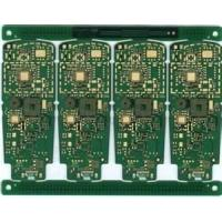 Buy cheap 2-layer pcb manufacture, pcb prototype, pcb copy board with 0.5OZ copper thickness from wholesalers