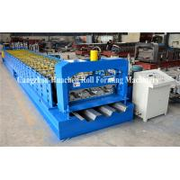 Buy cheap Steel Deck Forming Machine/ Galvanized Floor Decking Roll Forming Machine/ Roof Sheet Floor Tile from wholesalers