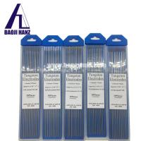 Buy cheap 1.6*175 mm WT20 wolfram tungsten electrodes for tig welding refractory metal from wholesalers