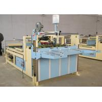 High Sensitivity Carton Folder Gluer Machine / Carton Folding And Gluing Machine