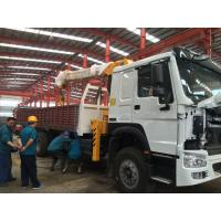 Buy cheap Telescopic Boom Truck Mounted Crane / 12 Tons Cargo Mounting Crane ZZ1257M4341W from wholesalers