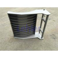 Curved Double Sieve Bend Screen High - Precision Slot Opening ISO Certification