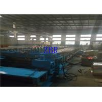Buy cheap 380V Three Phase Silo Forming Machine , 12M Per Min Standing Seam Metal Roof Machine from wholesalers