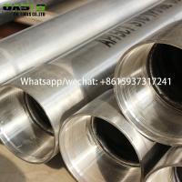 Buy cheap Professional Manufacturer Of Stainless Steel Seamless Water Well Casing Pipe Tube Plein from wholesalers
