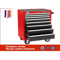 Buy cheap Industrial Universal CNC Tool Storage Cabinet Chest With 4 Wheel / 5 Drawers from wholesalers