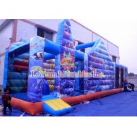 Buy cheap Mermaid Theme Inflatable Bouncy Castle Combo Finding Nemo Interesting Jumping House from wholesalers