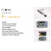 Buy cheap 2018 New 6 in 1 Derma Roller 12/300/720/1200 Needles Microneedle Therapy Dermaroller manufacturer from wholesalers