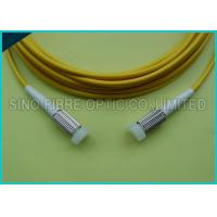 Buy cheap 2.0mm Duplex Zip Cord D4 Connector SM Yellow Fiber Optic Patch Cable from wholesalers