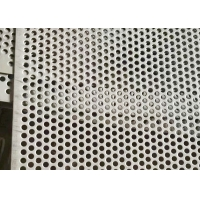 Buy cheap Round Hole 1.2mm 1m Width Stainless Steel Perforated Sheet from wholesalers