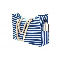 Buy cheap Blue Sky Oxford Waterproof Beach Bags And Totes 12A Canvas Polyester Handbags from wholesalers