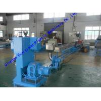 Buy cheap Plastics Polymers Recycling Plastic Granulating Machine with Twin Screw Design from wholesalers
