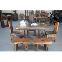 Buy cheap old fisherman  ship wood furniture solid wood furniture original manufacturer from wholesalers