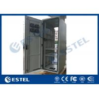 Buy cheap Rack Mount Outdoor Telecom Cabinet Galvanized Steel Front / Rear Access IP55 from wholesalers