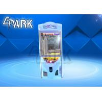 Buy cheap Newest Coin Operated Toy Crane Gift Game Machine Crazy Toy 2 Crane Claw Vending Game Machine from wholesalers