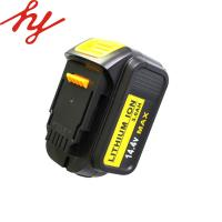 Buy cheap Cordless Drill  14.4V 3.0Ah Lithium Ion Battery  For Dewalt Made From 18650 Li-ion Battery from wholesalers