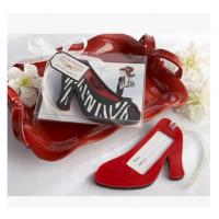 Buy cheap New creative promotion gift product wedding gift hing heel shoes luggage tag label from wholesalers