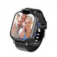 Buy cheap 4G Elderly Smart Watch Phone Fall-Down Alarm  Heart Rate Monitor Health Waterproof Gps Sos Watch from wholesalers
