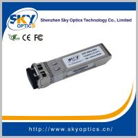 Buy cheap 10Gbps zr sfp+ compatible sfp 1550nm 80km single mode transceivers from wholesalers