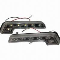 Buy cheap LED Daytime Running Lights, 1.5W, 12V DC Car Lights, Avoid Splash Wet, 6 Pieces of Super Flux  from wholesalers