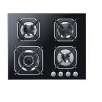Buy cheap Four Burners Gas Cooker Hob High Safety For Home Kitchen SS Surface Material from wholesalers