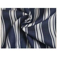 Buy cheap Woven 100% Cotton Denim Fabric Yarn Dyed 150GSM Weight With 89*56 Density from wholesalers