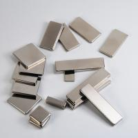 Buy cheap Nickel permanent strong block / cube neodymium magnet for industry or package from wholesalers