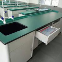 Buy cheap School Lab Workbench Science Lab Bench Biology Laboratory Table from wholesalers