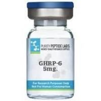 Buy cheap Liquid Peptide Hormones Bodybuilding , Lyophilized Fragment GHRP-6 Acetate from wholesalers