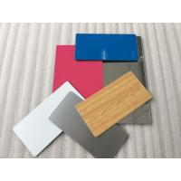 Buy cheap Pearl Blue Aluminium Exterior Composite Panels Easy Processing With Sound Insulation product