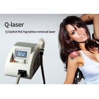 Buy cheap Clinic Nd Yag Laser Tattoo Removal Machine Carbon Peeling Skin Rejuvenation from wholesalers