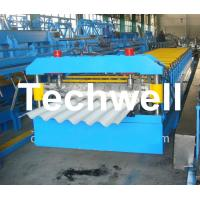 Buy cheap Big Wave Corrugated Roof Roll Forming Machine Galvanised 5.5 Kw with 18 Forming Station from wholesalers