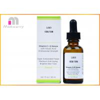 Buy cheap Natural Vitamin C E Serum With Ferulic And Hyaluronic Acid / Organic Anti Aging Serum from wholesalers