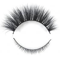 Buy cheap Hot Sale Fake Eyelashes Mink Lower Lasehs with Private Label customized package box from wholesalers