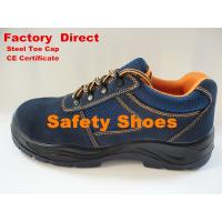Buy cheap Cow Suede Leather Sport Safety Shoes, Mens Safetry Shoes from wholesalers