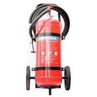 Buy cheap Safe ABC Powder Fire Extinguisher , Hospital 50Kg Trolley Foam Fire Extinguisher product