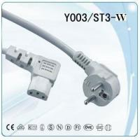 Buy cheap VDE computer power cord with IEC 320 C13 connector from wholesalers