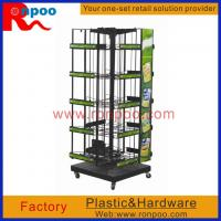 Buy cheap Counter Spin Racks,WAREHOUSE RACK,Kitchen Storage Wire Rack,Metal Wire Retail Display,Store Counter, product
