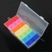 Buy cheap New Plastic Seven Days Pill Box Medicine Storage Case from wholesalers