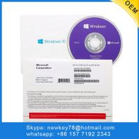 Buy cheap Activation Windows 10 Pro OEM Key / Windows 10 Professional License Key from wholesalers