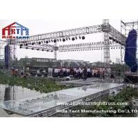 Buy cheap Wedding Party Aluminum Stage Truss , Global Aluminum Square Truss Electronic Hoist product
