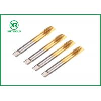 Buy cheap Blind Hole HSS Metric Taps M35 Material With 60 Degree Thread Angle Laser Printing from wholesalers
