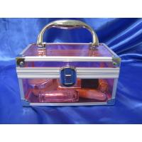 Buy cheap 3 Mm Acrylic Storage Boxes , Perspex Makeup Suitcase Customized product