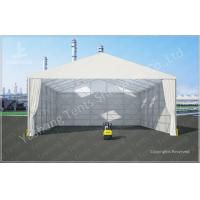 Buy cheap 8M Ultra High Professional Outdoor Warehouse Tents , Large Industrial Tent Rental from wholesalers