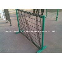 Buy cheap Pvc Coated Wire Mesh Fencing Grid Structure Concise For Swine Enclosure Fence from wholesalers