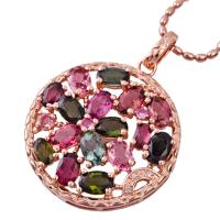 Buy cheap High quality guarantee crystal silver gemstone pendant K-BC-C800 with competitive price from wholesalers