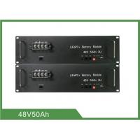 Buy cheap Energy Saving Telecom Battery 48V 50Ah Long Life 3U Rack With LED Display Function from wholesalers