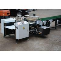 Buy cheap Electric Auto Folder Gluer Machine , Green Grey Glue Machine For Paper from wholesalers