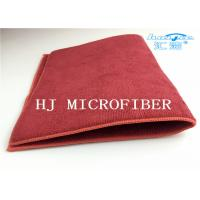 Buy cheap Red Color 80% Polyester 20% Polyamide Microfiber Towel Cloth Fabric Pad Middle With Sponge Multifunctional Pads from wholesalers